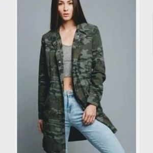 Jackets & Blazers - Camo / camouflage Trench Coat